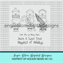 Load image into Gallery viewer, Happiest of Holiday Bears