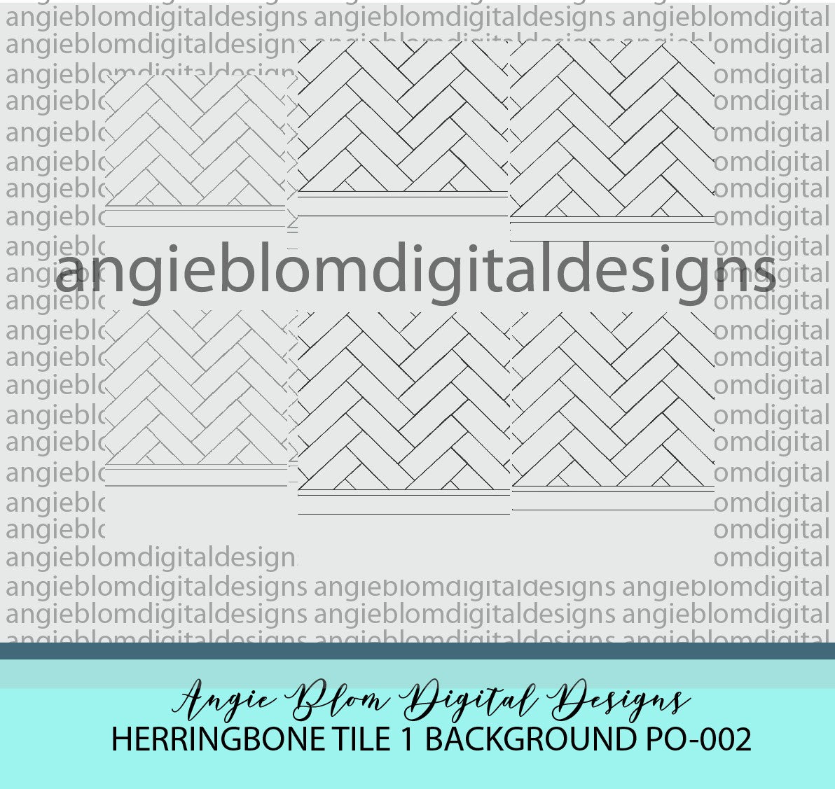 Herringbone Tile 1 Background