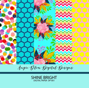 SHINE BRIGHT DIGITAL PAPERS