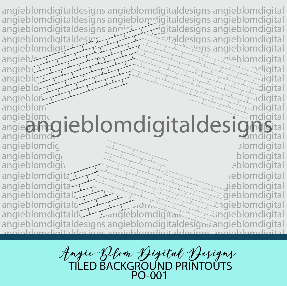 Tiled Background printouts