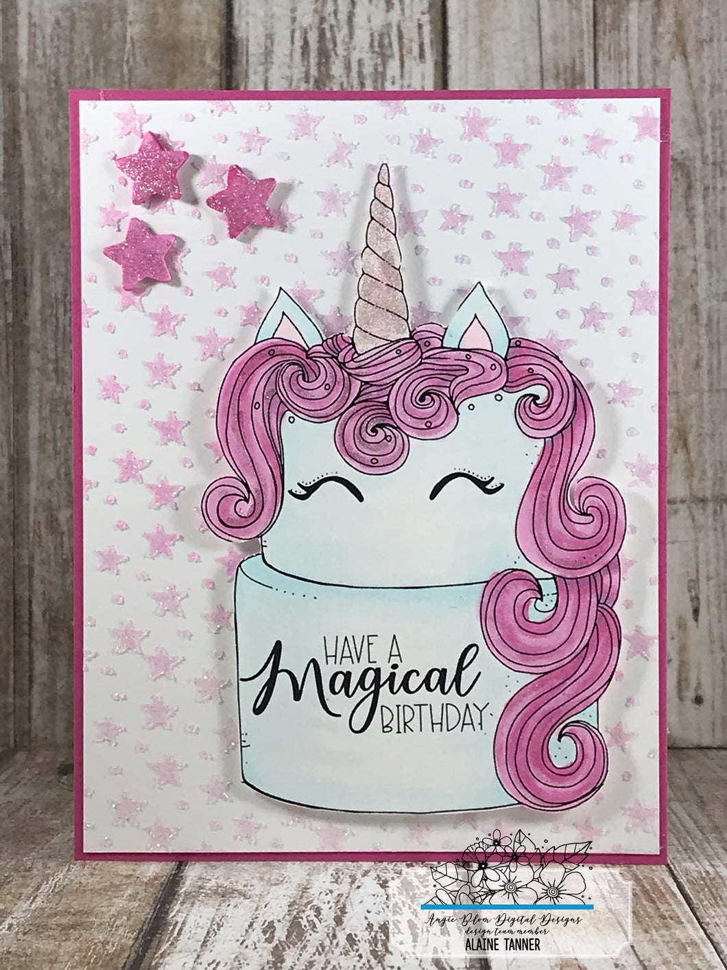 Unicorn Wishes (cake)