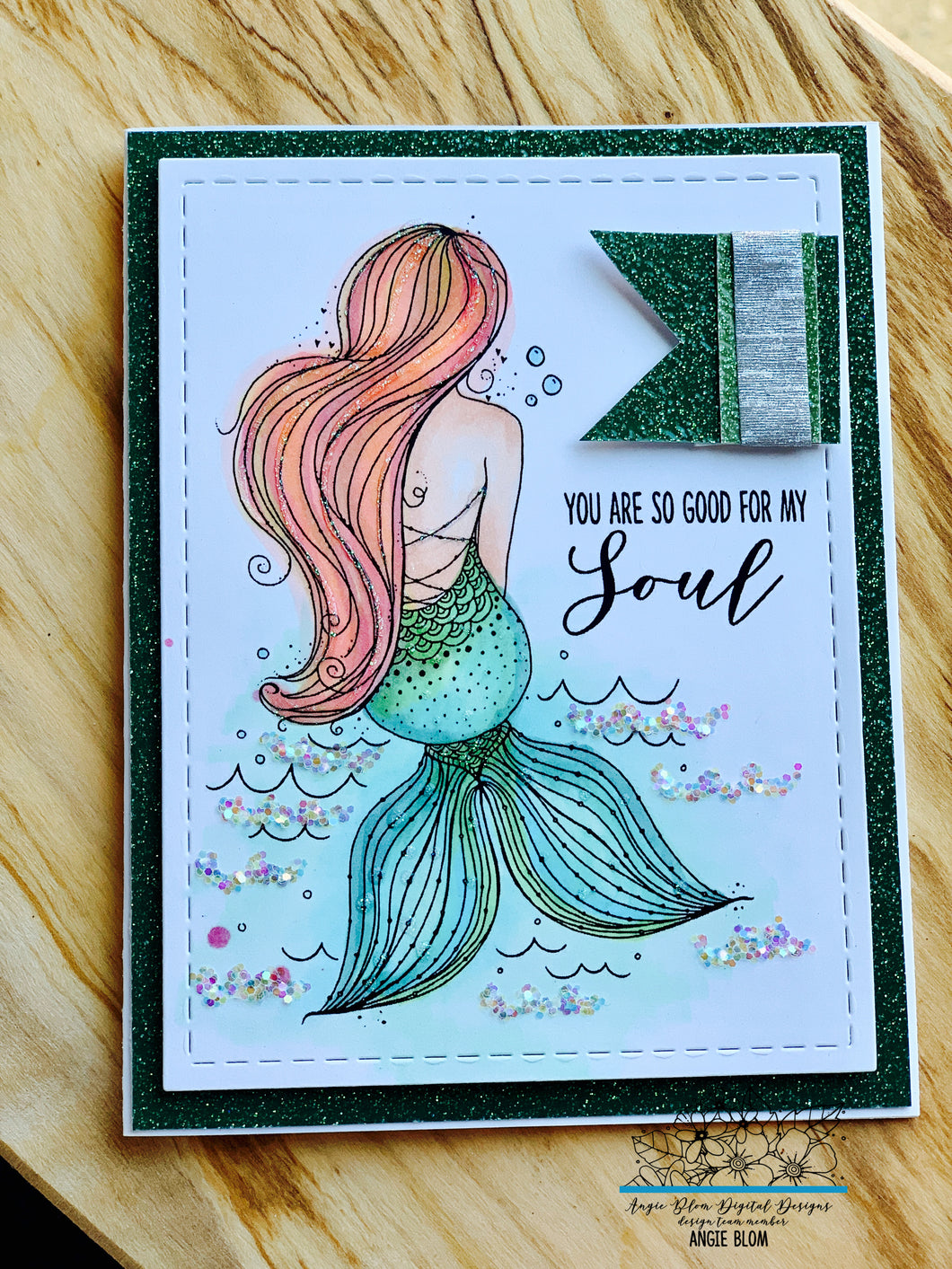 GOOD FOR THE SOUL (mermaid)