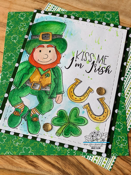 IRISH TODAY LEPRECHAUN
