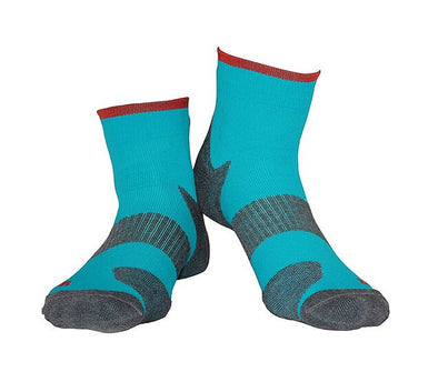 Technical Cushion Dark Turquoise Socks