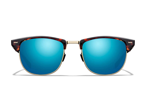 Cambridge Tortoise/Gold Frame - Teal Mirror Lens