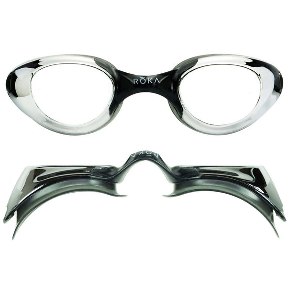 F2 Swim Goggles - Grey Mirror