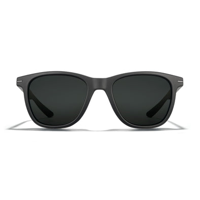 Halsey - Matte Black Frame /  Dark Carbon (Non-Polarized Lens)