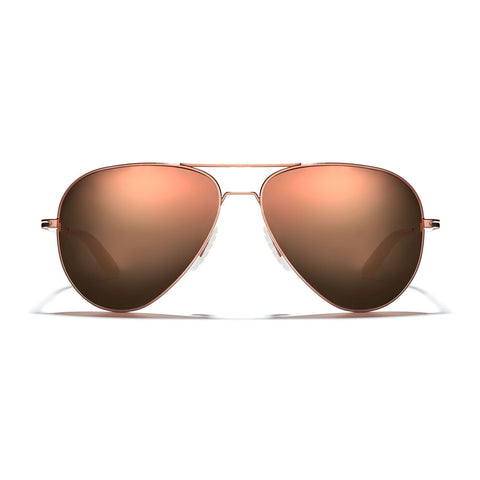 Phantom Titanium - Copper Frame /  Rose Gold Mirror Lens 57mm