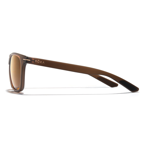 Halsey - Matte Root Beer Frame /  Bronze (Polarized Lens)