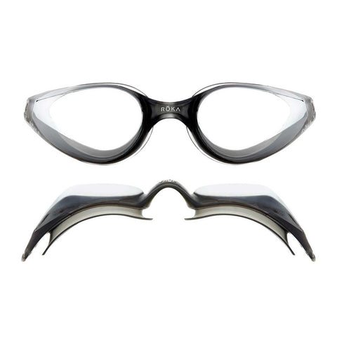 R1 Goggles - Dark Grey Mirror