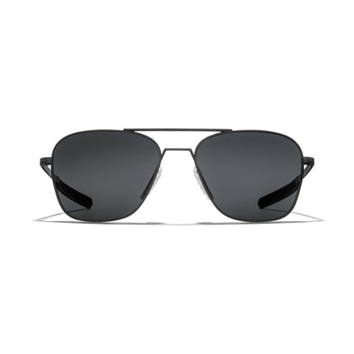 Falcon Titanium - Matte Black Frame / Dark Carbon (Polarized) Lens 55mm