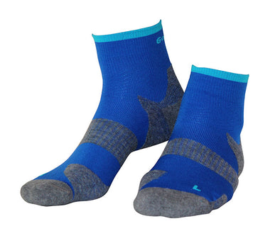Technical Cushion Electric Blue Socks