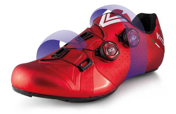 Vittoria Velar Road Cycling Shoes (Blue)