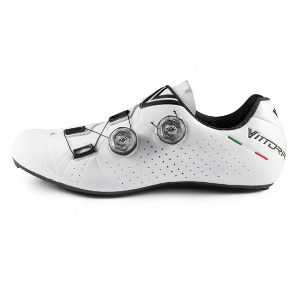 Vittoria Velar Road Cycling Shoes (White)