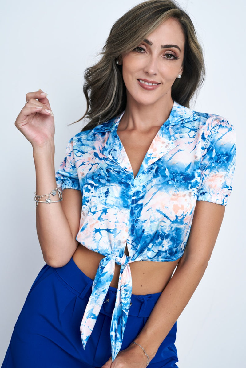 Top Tatiana - Azul