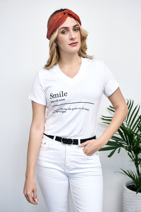 Polo Victoria Smile - Blanco