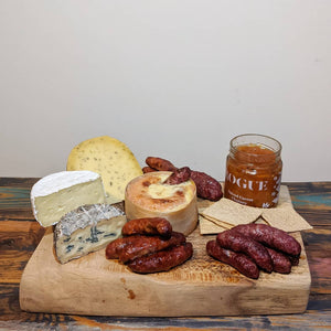 Welsh cheese & MH Charcuterie hamper