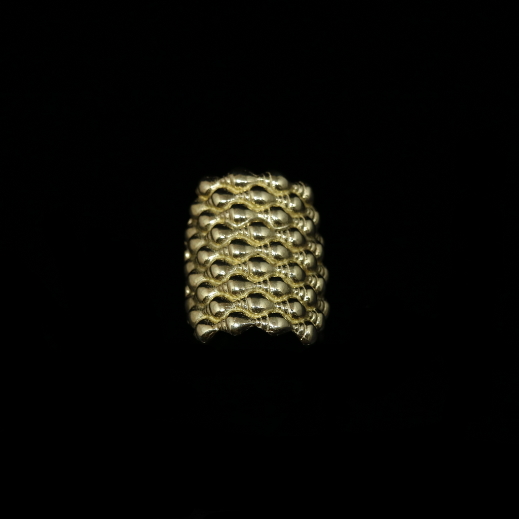 Conches Ring - 9 Rows - Gold