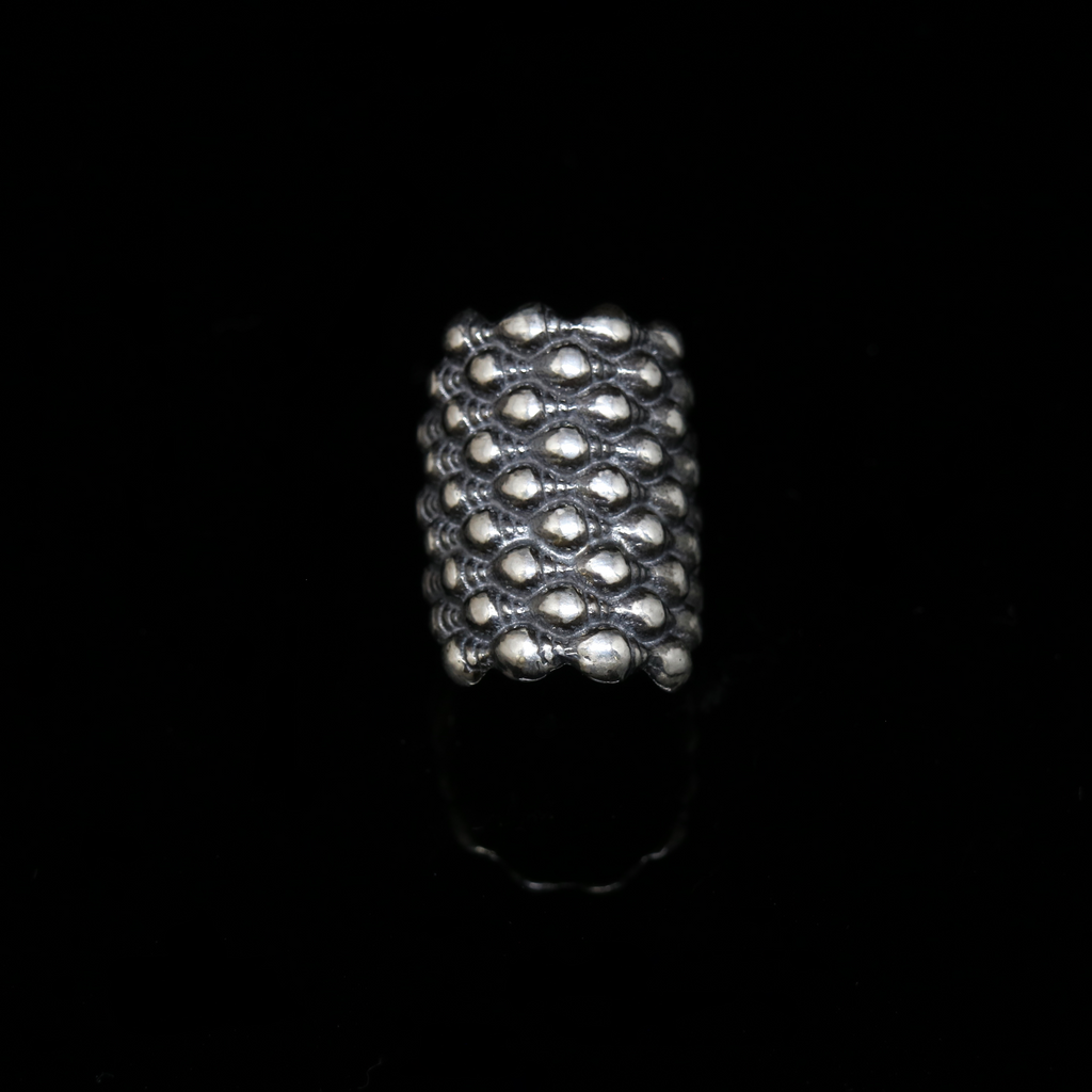 Conches Ring - 9 Rows - Silver