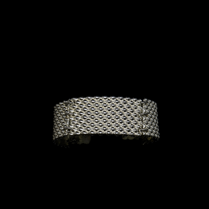 Conches Bracelet - 10 Rows - Silver