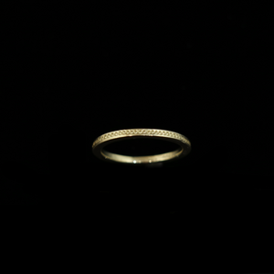 Celts & Kings Ring - 2mm Band - Gold
