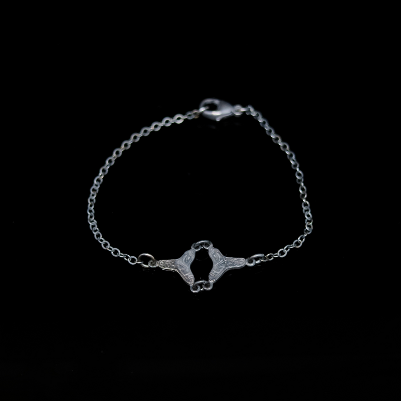 Celts & Kings Bracelet - Celtic Brooch - Silver