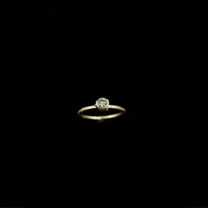 Celts & Kings Ring - 0.34ct Diamond (4.4mm) - Gold