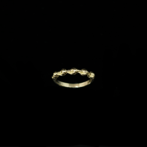 Conches Ring - 1 Row - Gold