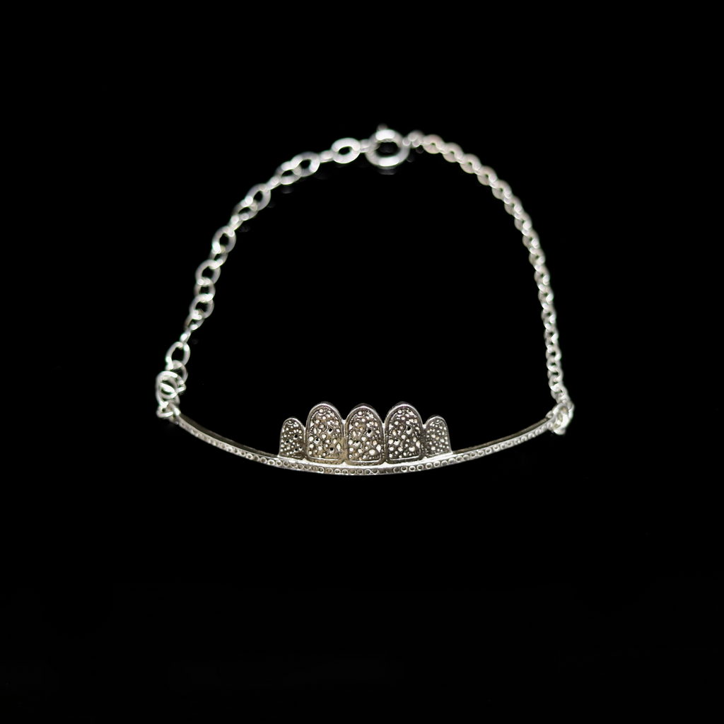 Celts & Kings Bracelet - Norwegian Brooch Bar - Silver