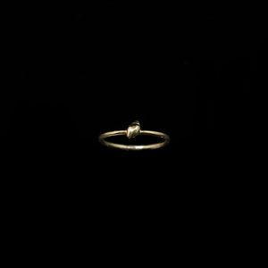Conches Ring - 1 Shell - Gold