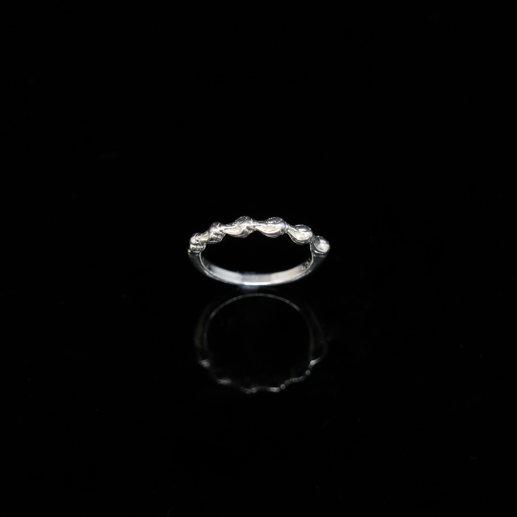 Conches Ring - 1 Row - Silver