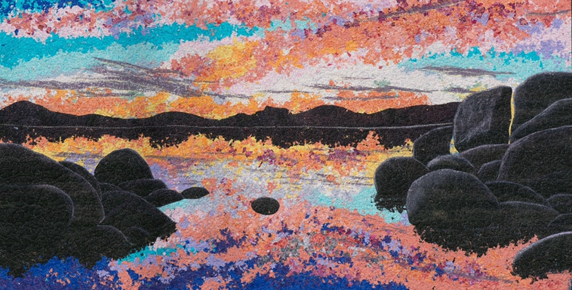 """Tahoe at Dusk""  Print- 32""x 20"""