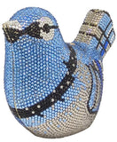 Crystal Bird Shaped Clutch Purse