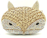 Sly Fox Crystal Clutch Purse