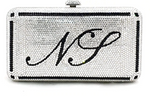 Personalized Monogrammed Crystal Clutch