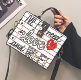 All I Need Is Love Handbag