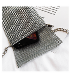 Rhinestone Messenger Bag