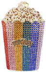 Popcorn Crystal Clutch Purse