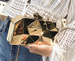 Geometric Fashion Clutch