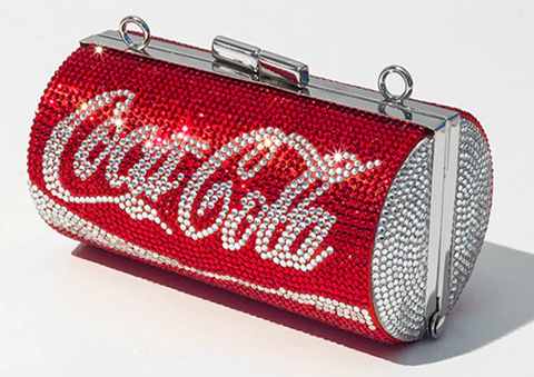 Coca Cola Crystal Clutch