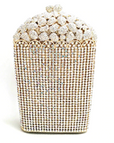 Popcorn Crystal Clutch