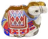 Arabian Camel Crystal Clutch Purse