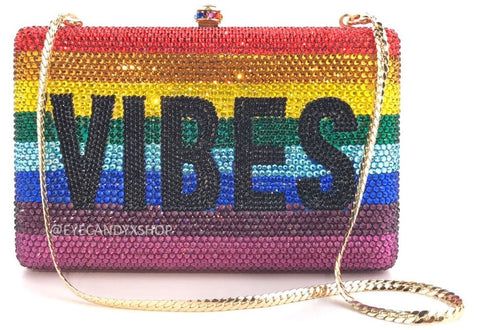 VIBES Crystal Clutch