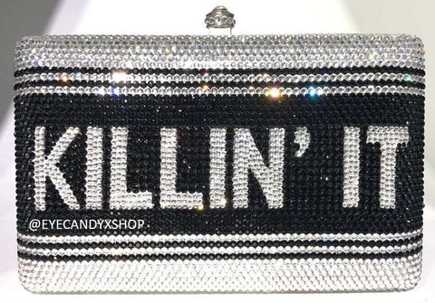 Killin It Crystal Clutch