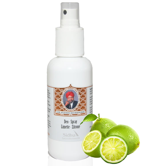 DEO – SPRAY LIMETTE / ZITRONE - Body Enjoy