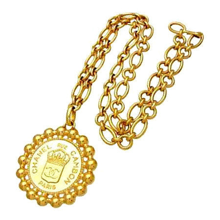 CHANEL<br>Antique CC Medallion Necklace ('54 - '60)
