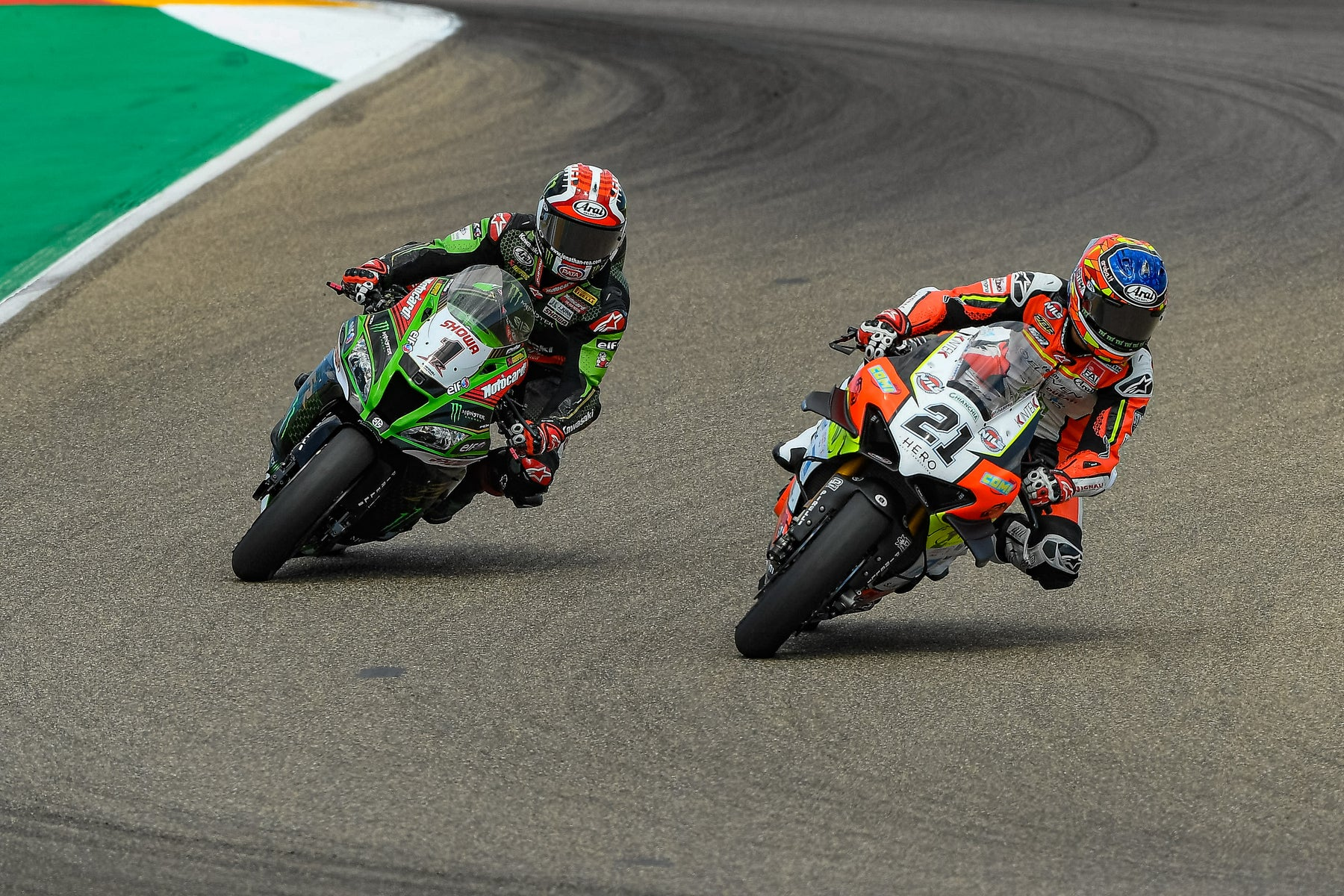 JONATHAN REA & MICHAEL RINALDI ROMP TO VICTORY IN WORLDSBK AT ARAGON