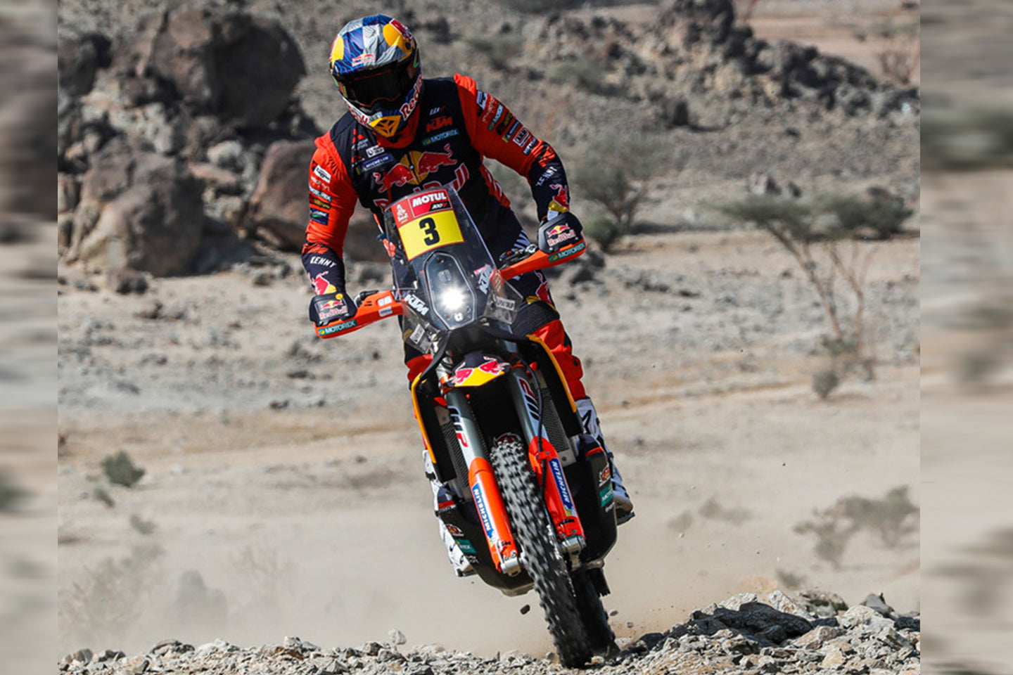 TOBY PRICE STORMS TO STAGE ONE VICTORY AT DAKAR 2021