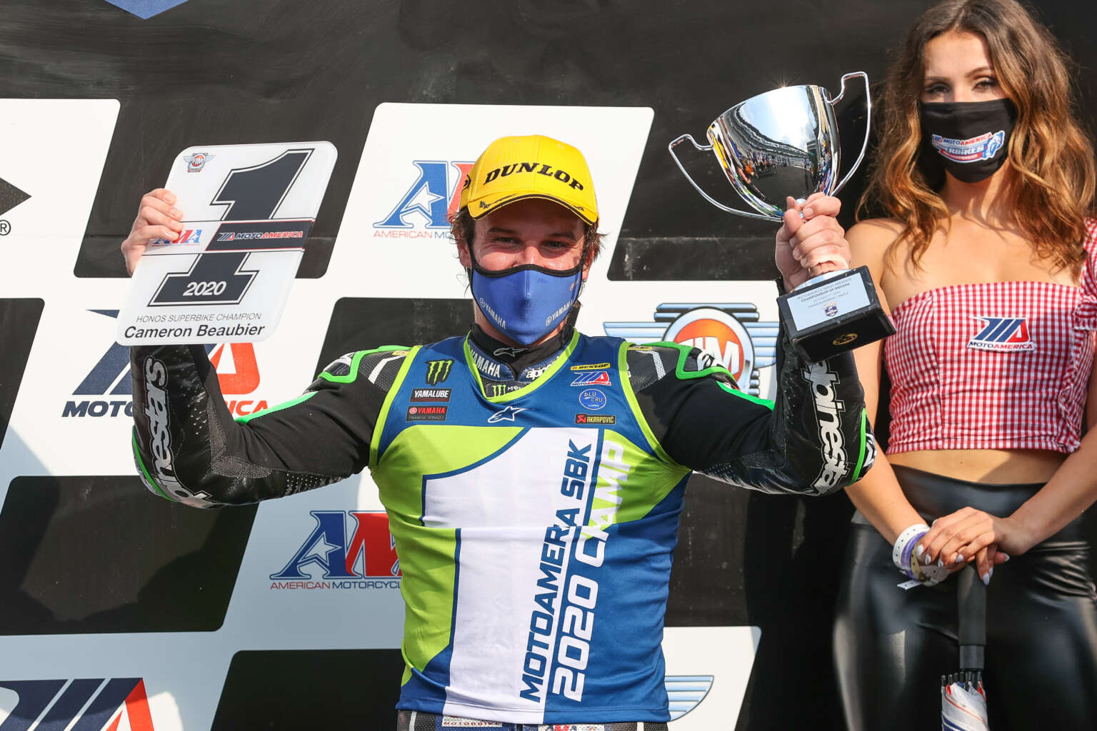 CAMERON BEAUBIER WINS FIFTH AMA SUPERBIKE CHAMPIONSHIP AT INDIANAPOLIS MOTOR SPEEDWAY