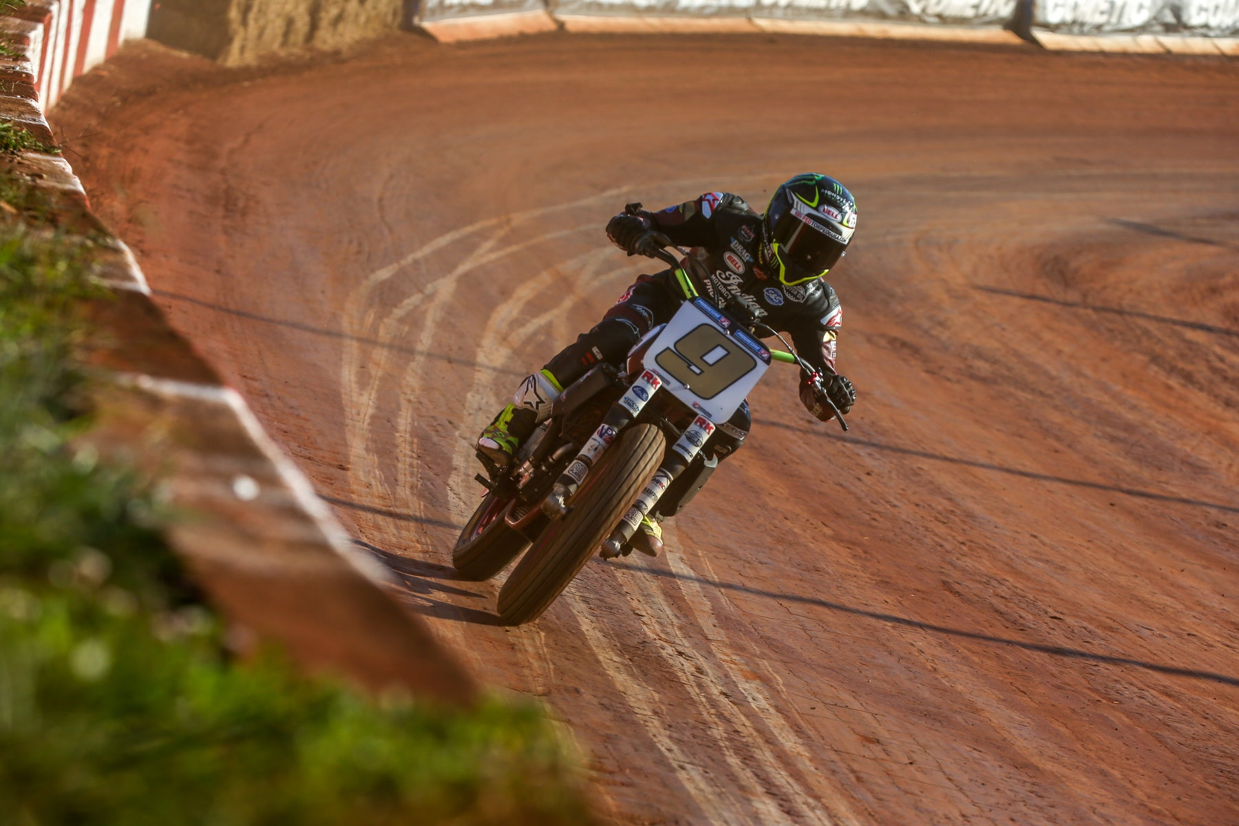 JARED MEES DOES DIXIE DOUBLE AFTER WINNING BOTH AFT FLAT-TRACK FEATURE RACES AT WOODSTOCK, GEORGIA